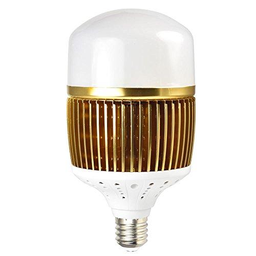 DASKOO CL-Q150W Lúmenes altos E40 LED Bombilla Globo 150W LED Bulbo Equivalente a 1200W Blanco Cálido 19500lm AC 85-265V