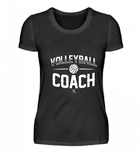Volleyball Coach Team Trainer Player Sport Volleyballmannschaft Mannschaft Fan Geschenk - Damenshirt