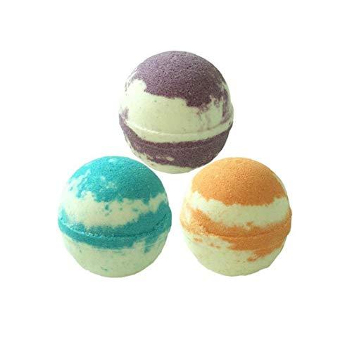 Premium Bath Bomben Gife Set Vegan Aroma Badesalz Ball - bestes Geschenk-Set für Frauen 6Pcs -
