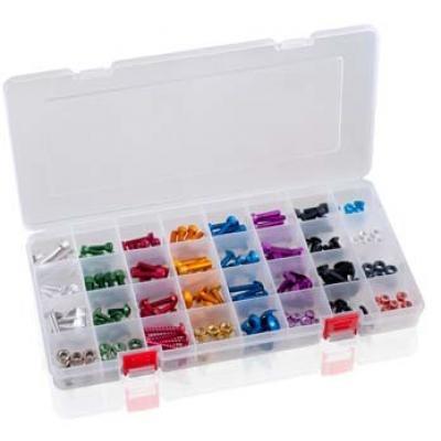 Puig Box komplett aus Kunststoff mit 32Abteilungen. Ref. 3961W