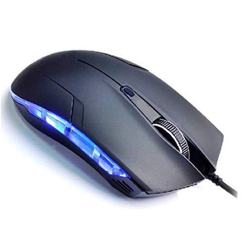 VITASS Maus Maus Raton LED Professionelle Cobra Optische 1600 DPI USB Verdrahtete Gaming Game Maus Für PC Laptop Schwarz Computer Wiederaufladbar - Cobra Usb-maus