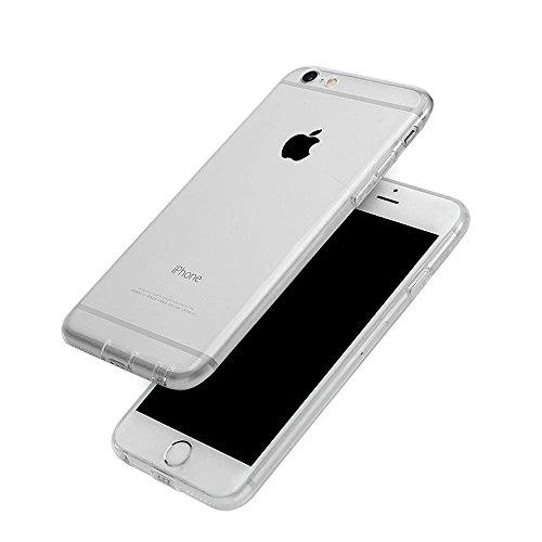 MOMDAD iPhone SE Blanc Coque iPhone 5 5S Transparent Coque iPhone 5 5S SE TPU Silicone Housse iPhone 5 5S SE Souple Case Cover Ultra-Slim avec Fonction Bouchon Anti-poussière pour iPhone 5 5S SE Etui  Transparent-Noir