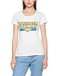 DC Comics Women's DC Originals Wonderwoman Logo T-Shirt