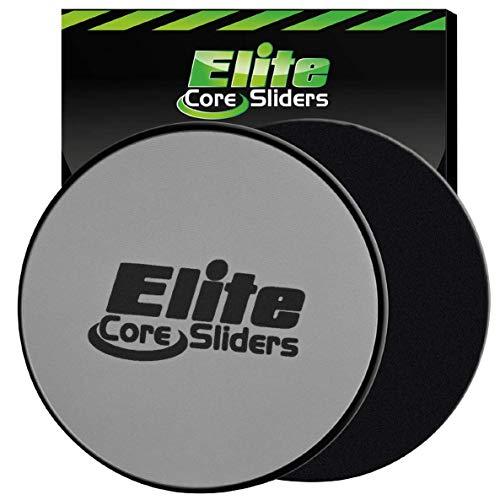 Elite Sportz Equipment Discos deslizantes Core Exercise Sliders, 2 Discos...