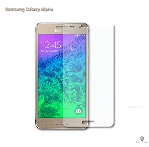 Pellicola in vetro temperato per samsung galaxy alpha g850 g850f trasparente protezione display schermo touch screen
