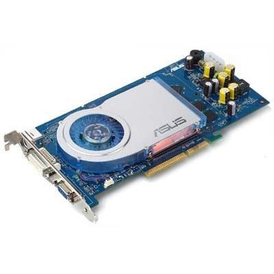 ASUS 9999GT V/TD-Adaptateur graphique-GF GT 6800–AGP 8x - 256 Mo-GDDR3–DVI/sortie TV