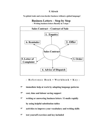 Free Download Pdf Business Letters - Step By Step: Writing