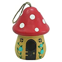 WildBird Care Hanging Birdhouse Bird House Nesting Decorative Outdoor Bird house (Birdhouse #4)