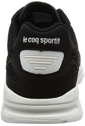 Le Coq Sportif Lcs R900 Woven Jacquard, Basses Mixte Adulte Noir (Black/Optical White)