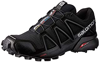 Salomon Women's Trail Running Shoes, SPEEDCROSS 4 W, Colour: Black/Black/Black Metallic, Size: EU 40 (B017SQZUA8) | Amazon price tracker / tracking, Amazon price history charts, Amazon price watches, Amazon price drop alerts