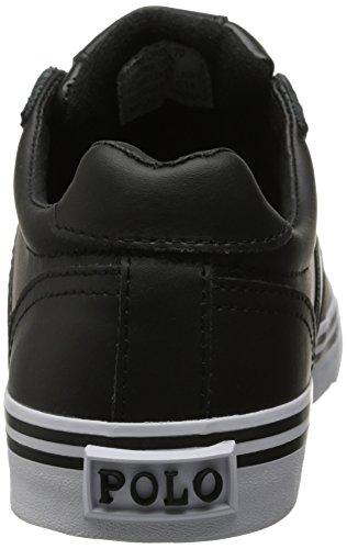 Polo Ralph Lauren Hanford Fashion Sneaker Black Leather