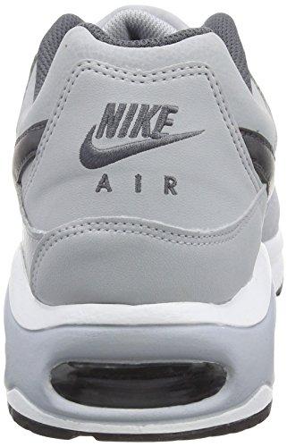 Scarpe sportive uomo Nike Air Max Command Leather 749760-012 grigio ... f3a16adbba4