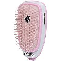 Jocca 6014 - Cepillo con vapor electrico, cargador USB, color rosa