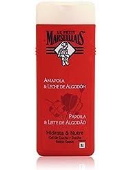 Le petit marsellais Amapola & Leche de Algodón Gel de Douche 400 ml