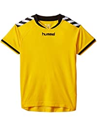 Hummel  Stay Authentic Jersey - Camiseta, color Amarillo Sports Yellow, 6-8 EU
