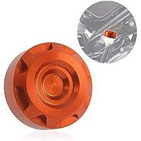 FATExpress Tapa de Aceite del depósito de la Bomba del líquido de Freno Trasero de Aluminio