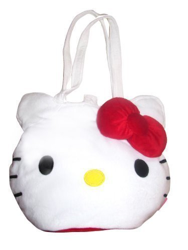 Hello Kitty Oversized Plush Tote Bag by Hello (Oversized Tote)