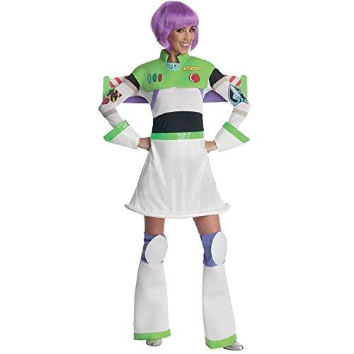 Damen Kostüm Miss Buzz Lightyear Toy Story, Erwachsene Kostüm–Große (Buzz Lightyear Erwachsene Kostüme)