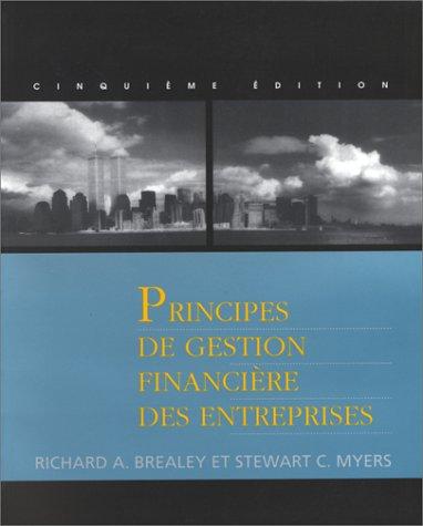 Principes de gestion financière des entreprises