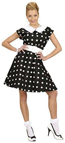 Widmann 58293 - Erwachsenenkostüm Frau der 50er (Karneval Kleid Petticoat)