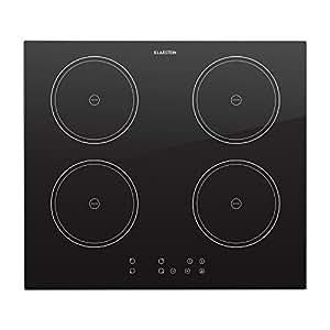 klarstein virtuosa plaques de cuisson induction taille compacte 4 plaques puissance 2000w et. Black Bedroom Furniture Sets. Home Design Ideas