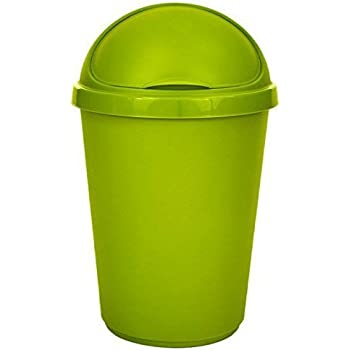 Bullet Bin Recycling Waste Rubbish Cardboard Plastic Disposal Dustbin Flip Top F