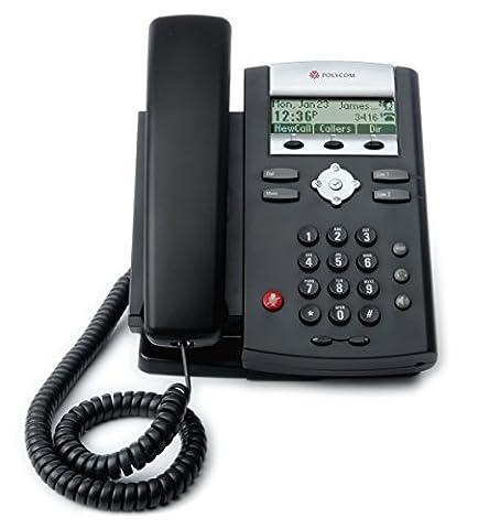 Polycom VoIP SoundPoint IP331 Desk Phone - (Linea Voip Telefono Desktop)