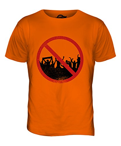 CandyMix Agoraphobie Herren T Shirt Orange
