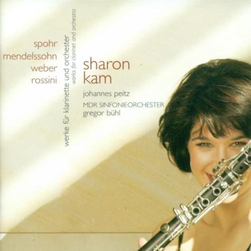 Sharon Kam - Werke für Klarinette und Orchester