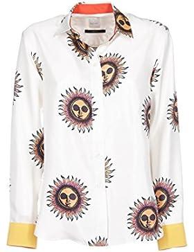 Paul Smith Mujer PUXM004B334A02 Blanco Seda Camisa