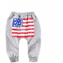 Koly_Ragazzi American Flag modello Harlan pantaloni pantaloni casual