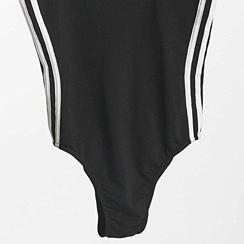 Adidas Donna 3Righe Costume Da Bagno Nero