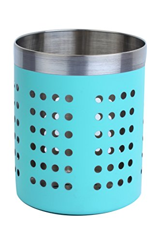 Homeish Metallo Stainless Steel Utility Holder - Sea Green