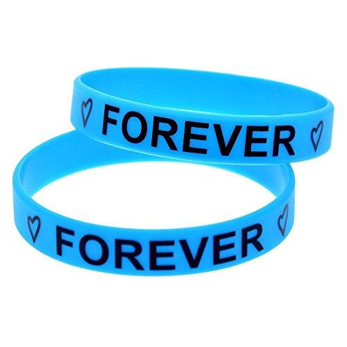 bons plans sur la mode énorme réduction factory North King Bracelets en Silicone pour Les Enfants « Meilleurs Amis Forever  », Bracelet en Silicone avec des Amis, des Bracelets en Caoutchouc pour Les  ...