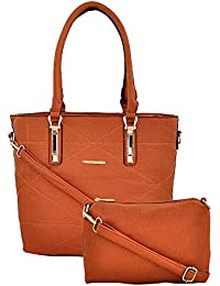 R3 Women's Handbags With Sling Bag Orange-R3-1