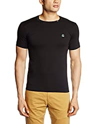United Colors of Benetton Mens Cotton T-Shirt (666DI Black M)