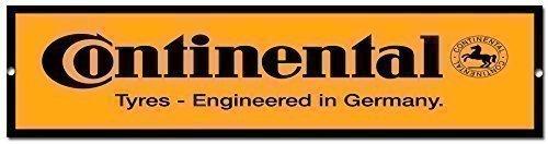 Continental Pneus qualité métal panneau de garage pas cher