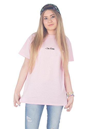 Sanfran Clothing Damen T-Shirt Hellrosa