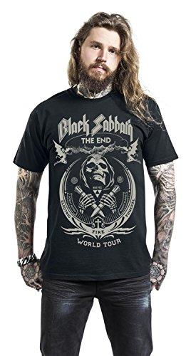 Black Sabbath The End Grim Reaper T-Shirt schwarz Schwarz