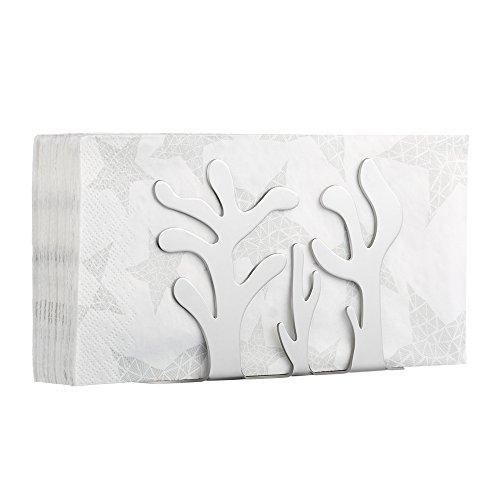 Ecooe Serviettenhalter Edelstahl Papierhalter Serviettenständer für Kleine Servietten (Cactus)