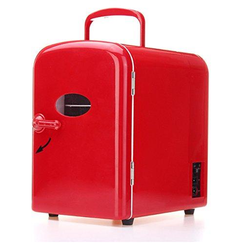 Preisvergleich Produktbild Auto Kühlschrank, autoinbox Tragbarer Mini 4L Kühlschrank Kühlschrank Gefrierschrank Kühler wärmer Auto Home Office