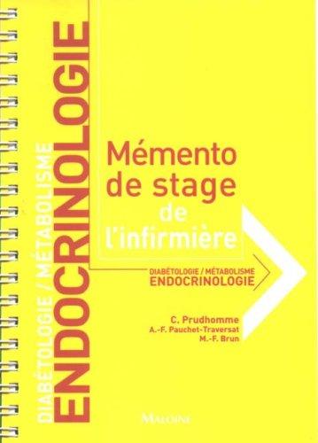 Endocrinologie : Diabétologie / Métabolisme