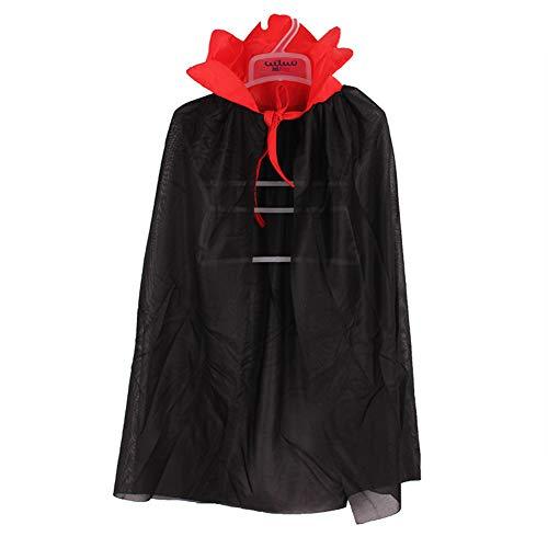 Kostüm Prinz Krieger - ZDDT Halloween Kostüm Vampir Zauberer Dämonen Mantel Zauberer Kostüm Krieger Halloween Mantel Kind