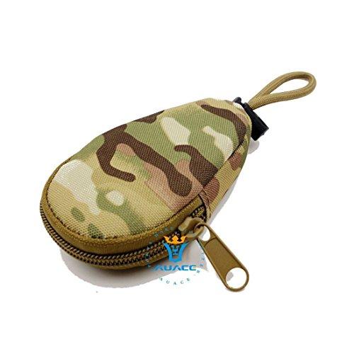Multifunzione Mini sopravvivenza Gear tattico Sacca Molle Pouch Coin Key Pouch, campeggio portatile Borse da viaggio Borse Strumento Borsa marsupio, BK CP