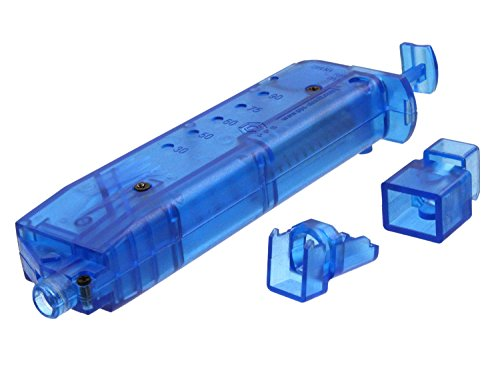 PPS Softair / Airsoft Loading Tool / Speed Loader, fasst 90 BBs - blau
