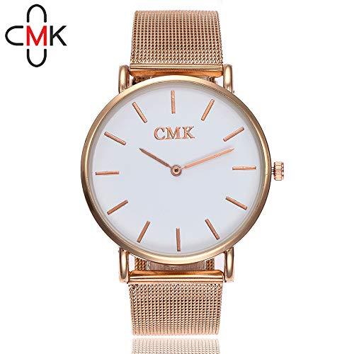 Uhren Damen Armbanduhr Beiläufige Quarz Edelstahlband Bügel Uhr Analoge Armbanduhr Klassisch Uhr für Das Festivalgeschenk,ABsoar