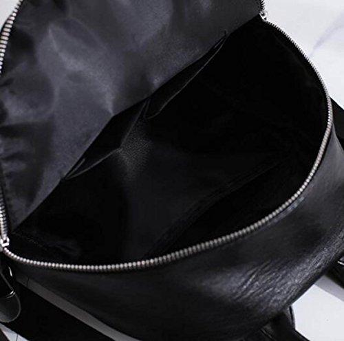 Frauen Persönlichkeit Umhängetasche Mode Schultaschen GoldenColor