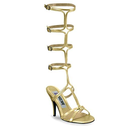 Funtasma Damen ROMAN-10 Sandalette PU Gold 38 EU