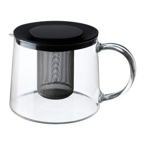 IKEA RIKLIG Teekanne aus Glas; (1,5l) - Eine Teekanne