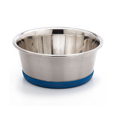 OurPets-Premium-Rubber-Bonded-Stainless-Steel-Dog-Bowl-12pt-12pt